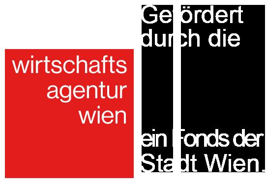 Gefördert durch die Wirtschaftsagentur Wien. Ein Fonds der Stadt Wien.